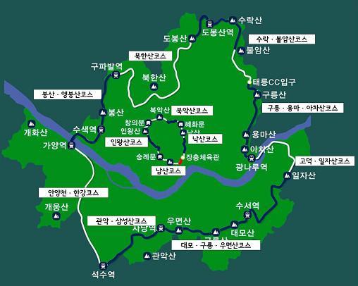 서울 둘레길 안내지도 & 스탬프북 [여행자의 봄맞이 준비]